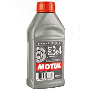 Płyn hamulcowy DOT3&4 Motul 0,5L